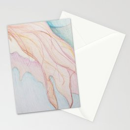 Lost In The Sea Of My Thoughts Stationery Cards