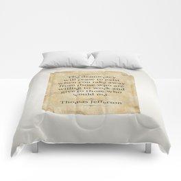 Thomas Jefferson Quote Comforters