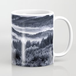 Misty Forest Mountains Coffee Mug