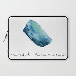 march aquamarine Laptop Sleeve