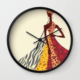 Queendom Pt 3 Wall Clock