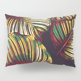 Abstract leaves Pillow Sham