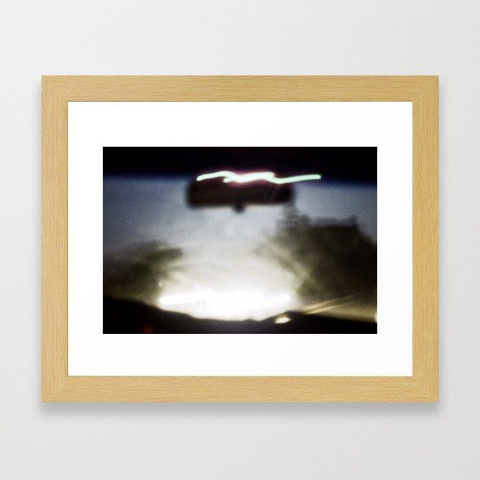 Alcoholic Swerve  Framed Art Print