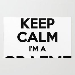 I cant keep calm I am a GRAEME Rug