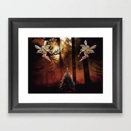 Christmas Faerie Dust Framed Art Print