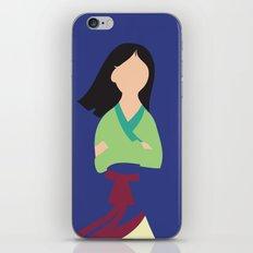 Mulan iPhone & iPod Skin