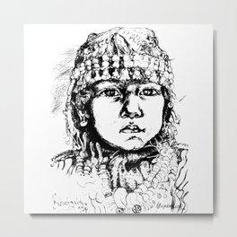 Berber kid Metal Print