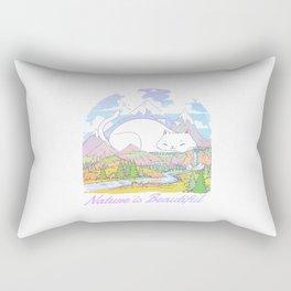 Nature Is Beautiful Rectangular Pillow
