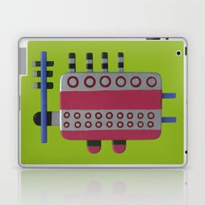 Indian woman with pink breasts Laptop & iPad Skin