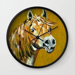 Peruvian Paso Horses Wall Clock