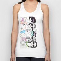 sunglasses Tank Tops featuring sunglasses by Emily Tumen