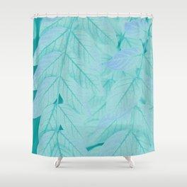 Botanical Leaves - JUSTART (c) Shower Curtain