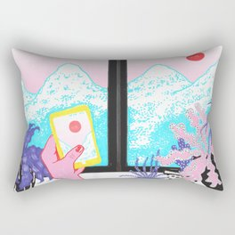 mountains crave Rectangular Pillow