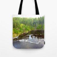 minnesota Tote Bags featuring Minnesota Daybreak by JayKay