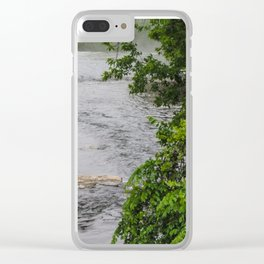 Glenn Park Clear iPhone Case