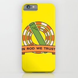 The Simpsons: In rod we trust iPhone Case