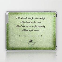 Claddagh ~ Love, Loyality, and Friendship Laptop & iPad Skin