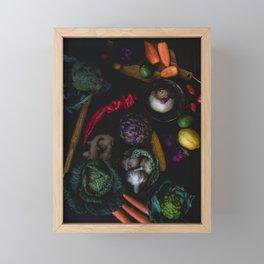 Artichoke Mix Framed Mini Art Print