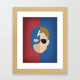 Captain Rogers Framed Art Print