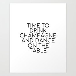 Party Decorations Chamapage Gift Party Like Gatsby Birthday Decorations Bar Decor Quotes Champagne Art Print