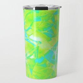 Grunge Art Floral Abstract G170 Travel Mug