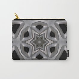 Abstract kaleidoscope of a wheel cover Carry-All Pouch