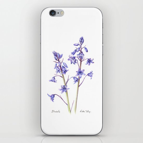 Bluebells iPhone & iPod Skin