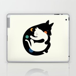 More Hugs Less Fights Laptop & iPad Skin