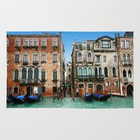 venice Area & Throw Rugs featuring Venice by Shannon McCullough-Wight