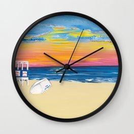 Ocean City NJ Sunrise Wall Clock