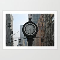 Timepiece Art Print