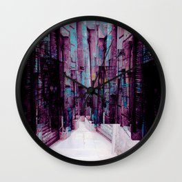 gathered hither inclusive jeopardy kinship lurings Wall Clock