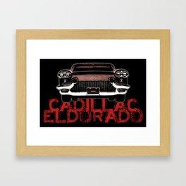 Cadillac Eldorado Tribute Framed Art Print