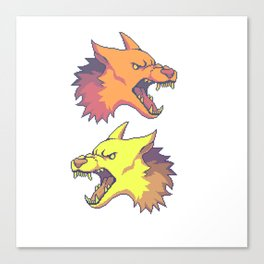 Ruff Canvas Print