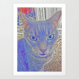 Chessire Cat Art Print