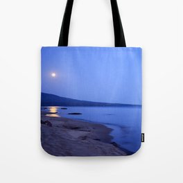 Moon Shimmering on Superior Tote Bag