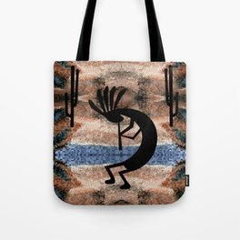 Kokopelli Southwest Desert Tote Bag