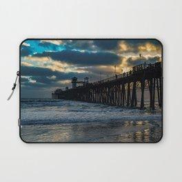 South Side Oceanside Pier ~10-2015 Laptop Sleeve