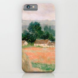 Haystack at Giverny by Claude Monet iPhone Case