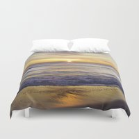 virginia Duvet Covers featuring VIRGINIA BEACH by M.KATZ DESIGNS