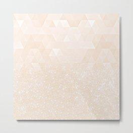 Experimental Glitter X Metal Print