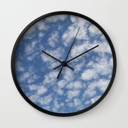 TEXTURES:Just Clouds #2 Wall Clock