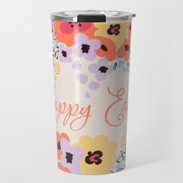 Happy Easter Travel Mug