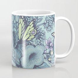 Beauty (eye of the beholder) - aqua version Coffee Mug