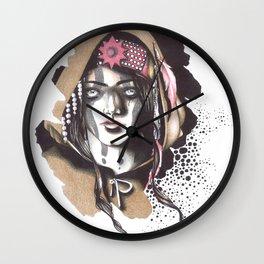 And I Darken    Lada Wall Clock