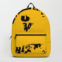 We are only numbers Backpack