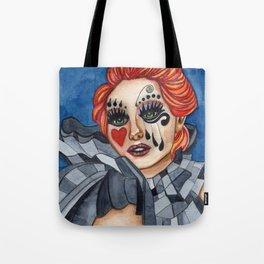 Harlequin - watercolor Tote Bag