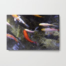 Fountain Freedom III Metal Print