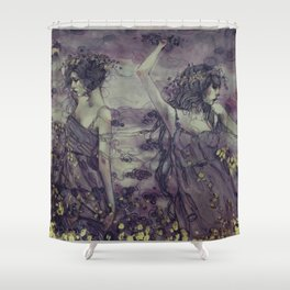 Beyond Elsewhere Shower Curtain