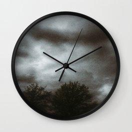 Storm Brewing Wall Clock